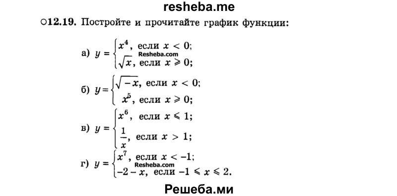 ГДЗ Решебник Алгебра 7 класс Учебник Теория (Углубленный