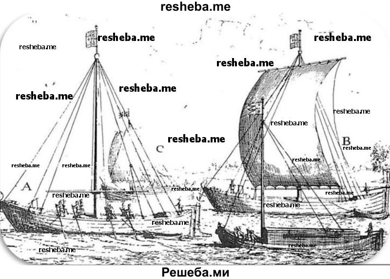 Найдите в Интернете описание коча. Сравните коч с английским или испанским судном XVII в. Результаты работы оформите в виде электронной презентации